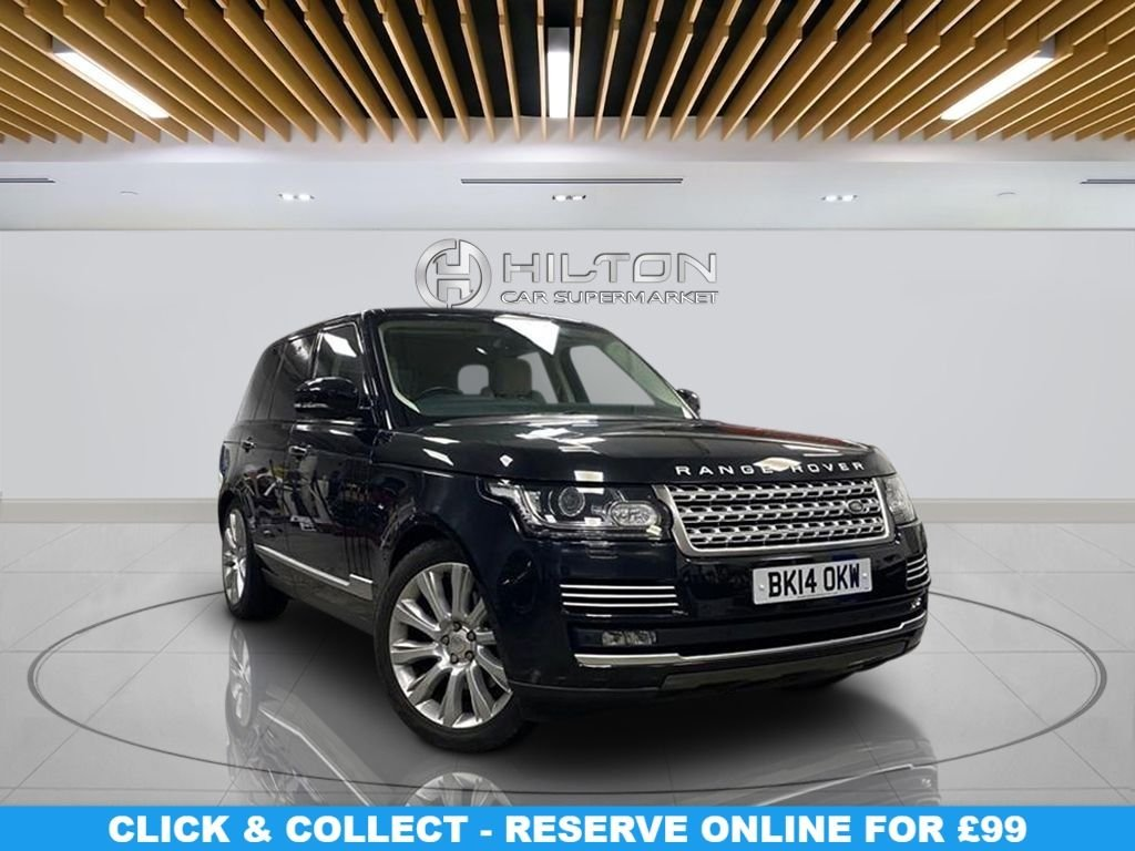 "USED 2014 14 LAND ROVER RANGE ROVER 3.0 TDV6 VOGUE SE 5d 258 BHP Navigation System, Leather Seats, 21"" Alloy Wheels, Parking Sensor(s), Climate Control"