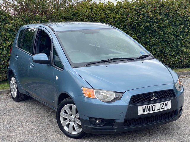 USED 2010 10 MITSUBISHI COLT 1.3 CLEAR TEC CZ2 5 COMPREHENSIVE SERVICE HISTORY, MOT UNTIL FEBRUARY 2021, ECONOMICAL CAR, AIR CONDITIONING, ALLOY WHEELS