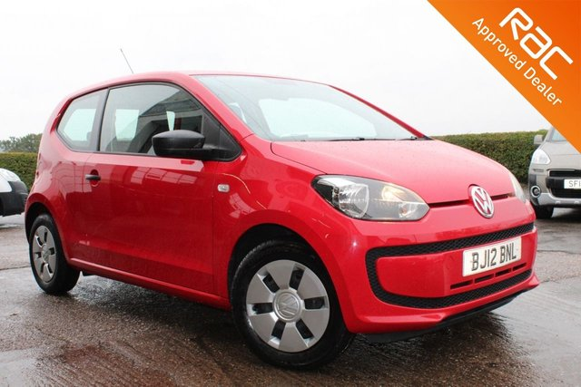 USED 2012 12 VOLKSWAGEN UP 1.0 TAKE UP 3d 59 BHP VIEW AND RESERVE ONLINE OR CALL 01527-853940 FOR MORE INFO.