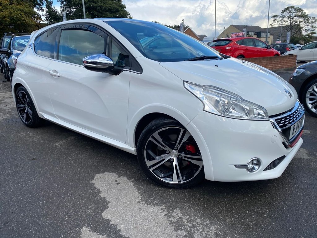 USED 2014 14 PEUGEOT 208 1.6 THP GTI LIMITED EDITION 3d 200 BHP
