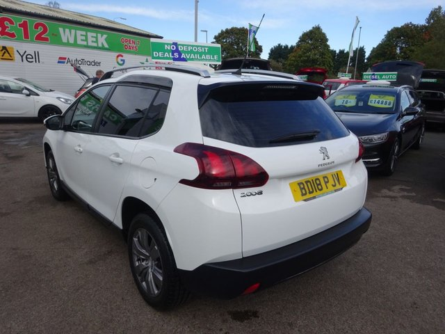 USED 2018 18 PEUGEOT 2008 1.2 PURETECH ACTIVE 5d 82 BHP **CLICK AND COLLECT ON YOUR NEXT CAR**