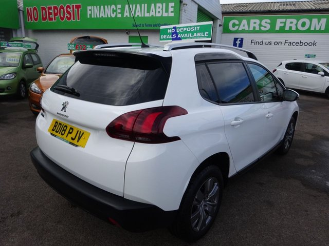 USED 2018 18 PEUGEOT 2008 1.2 PURETECH ACTIVE 5d 82 BHP **JUST ARRIVED **PART EXCHANGE WELCOME**