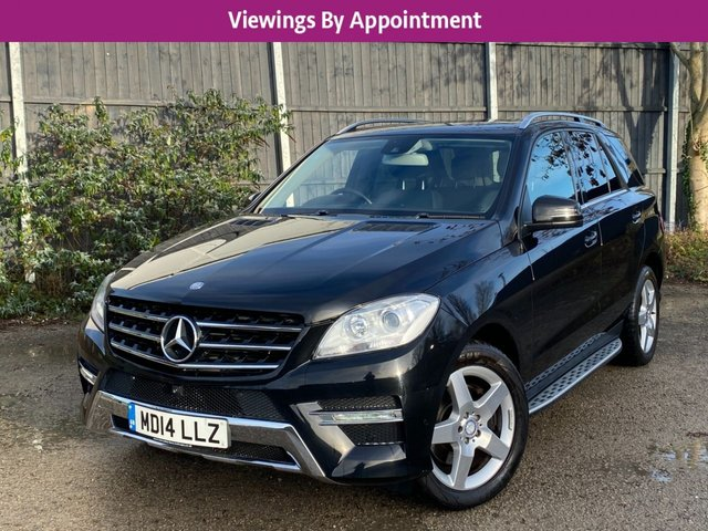 USED 2014 14 MERCEDES-BENZ M-CLASS 2.1 ML250 BLUETEC AMG SPORT 5d 204 BHP