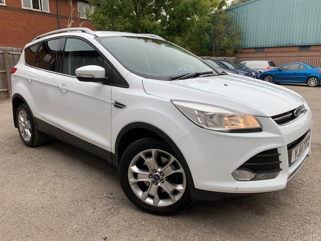 USED 2014 14 FORD KUGA 2.0 TITANIUM TDCI 5d 160 BHP BLUETOOTH, HEATED FRONT SCREEN, FORD KEYLESS ENTRY & HANDS FREE BOOT OPENING