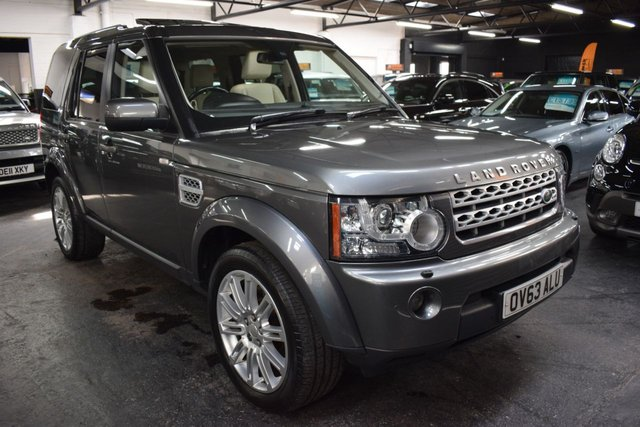 USED 2013 63 LAND ROVER DISCOVERY 4 3.0 4 SDV6 HSE 5d 255 BHP STUNNING CONDITION - CORRIS GREY - IVORY LEATHER AND INSERTS - ONE PREVIOUS KEEPER - NAV - HEATED SEATS - TOWBAR - SUNROOF