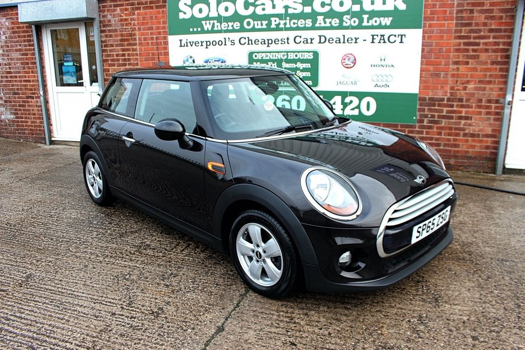 USED 2015 65 MINI HATCH COOPER 1.5 COOPER 3d 134 BHP +PEPPER PACK +AUDIO BOOST DAB