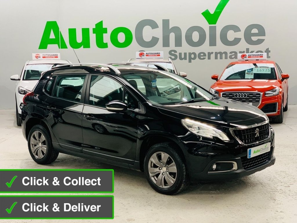 USED 2016 16 PEUGEOT 2008 1.6 BLUE HDI ACTIVE 5d 100 BHP