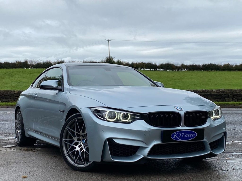 USED 2018 18 BMW M4 3.0 COMPETITION 2d 444 BHP ONE OWNER, FULL BMW SERVICE HISTORY