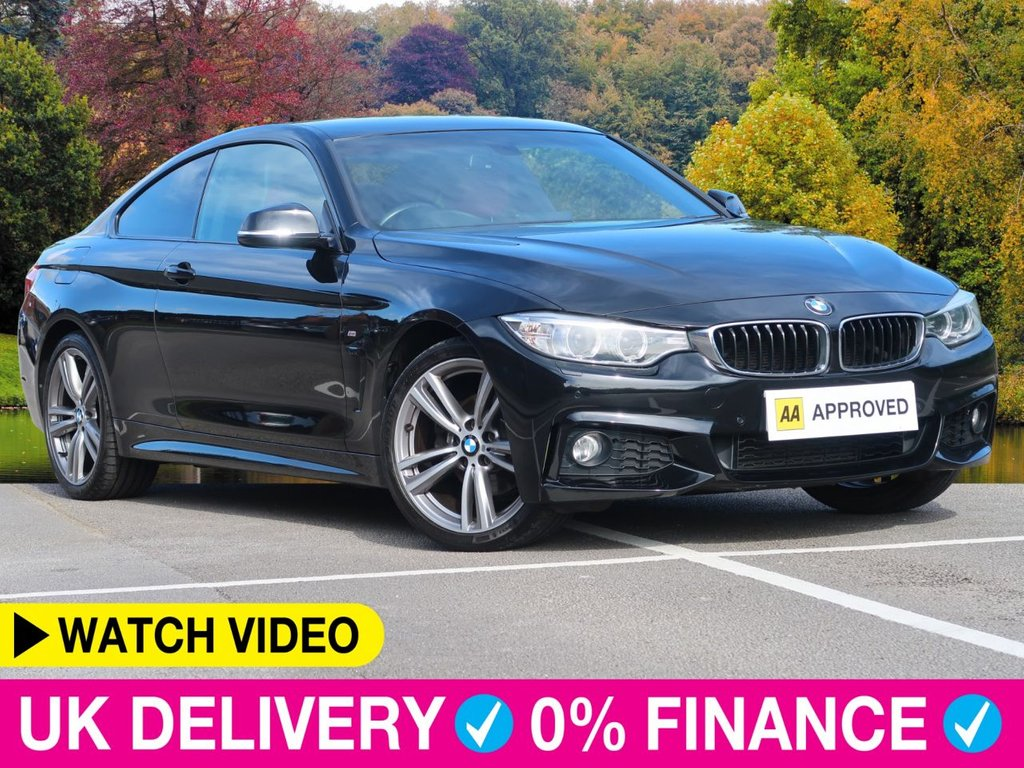 USED 2014 14 BMW 4 SERIES 420d xDrive M Sport 2.0 Coupe 19