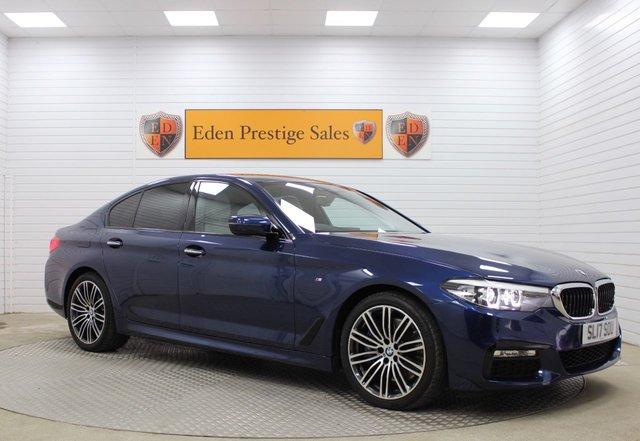 USED 2017 17 BMW 5 SERIES 3.0 540I XDRIVE M SPORT 4d 335 BHP