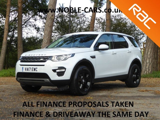 USED 2017 17 LAND ROVER DISCOVERY SPORT 2.0 TD4 SE TECH 5d 150 BHP