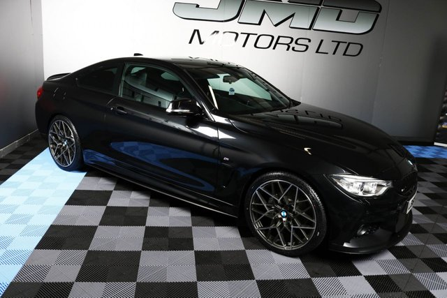 USED 2015 65 BMW 4 SERIES DECEMBER 2015 420D M SPORT 2d AUTO 188 BHP (FINANCE AND WARRANTY)