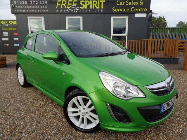 USED 2013 63 VAUXHALL CORSA 1.2 i 12v Active 3dr Low Mileage, USB/AUX