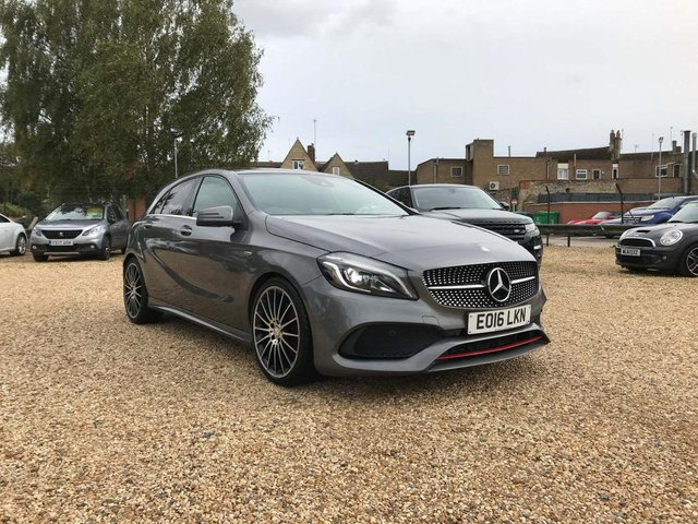 USED 2016 16 MERCEDES-BENZ A-CLASS 2.0 A250 AMG (Premium) 7G-DCT 4MATIC (s/s) 5dr Sat Nav, Pan Roof & Leather
