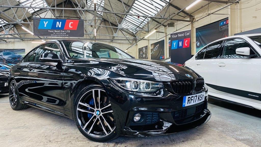 USED 2017 17 BMW 4 SERIES 2.0 420d M Sport 2dr LOADED+DIGDASH+RADARCRUISE+