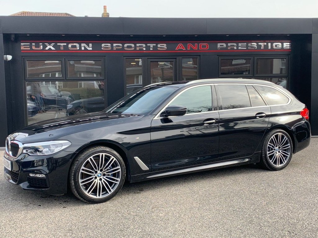 USED 2018 68 BMW 5 SERIES 2.0 525d M Sport Touring Auto (s/s) 5dr FULL SERVICE HISTORY