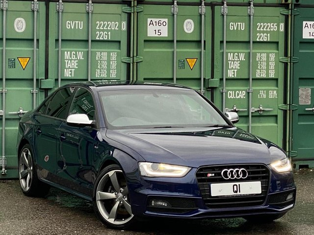 USED 2012 62 AUDI A4 3.0 TFSI V6 Black Edition S Tronic quattro 4dr BUY ONLINE + FREE DELIVERY