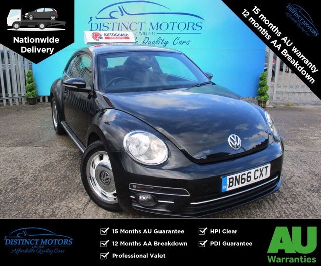 USED 2016 66 VOLKSWAGEN BEETLE 1.2 DESIGN TSI BLUEMOTION TECHNOLOGY DSG 3d 104 BHP