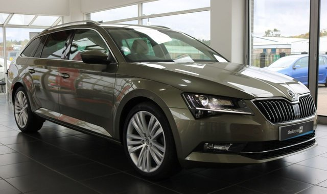 2017 17 SKODA SUPERB 2.0 SE L EXECUTIVE TDI DSG 5d 188 BHP