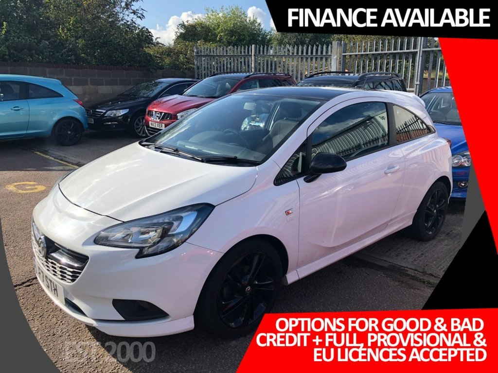 USED 2016 F VAUXHALL CORSA 1.4 LIMITED EDITION ECOFLEX 3d 74 BHP * 1 OWNER * LOW MILES * MOT SEPT 2021 * 2 KEYS * CRUISE CONTROL * CLIMATE *