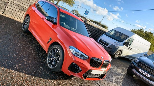 2019 19 BMW X3 3.0 M COMPETITION 5d 503 BHP