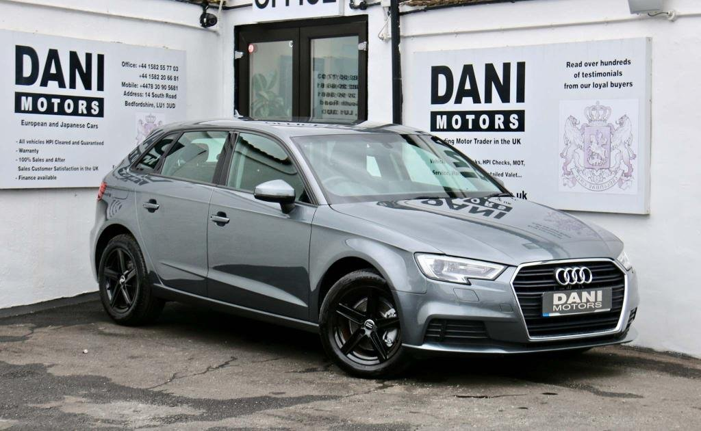USED 2017 17 AUDI A3 1.6 TDI SE Sportback S Tronic 5dr 1 OWNER*APPLE PLAY*XENONS*