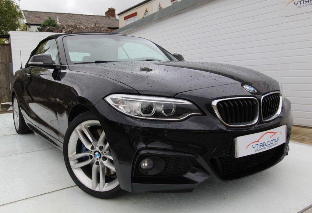 USED 2015 65 BMW 2 SERIES 2.0 225D M SPORT 2d 222 BHP Full History-2keys-4.5k Option