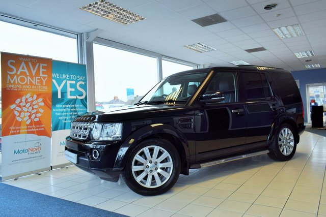 2016 65 LAND ROVER DISCOVERY 4 3.0 SDV6 COMMERCIAL 5 SEATER SE 255 BHP NO VAT