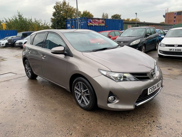 USED 2014 64 TOYOTA AURIS 1.6 VALVEMATIC ICON PLUS 5d 130 BHP FREE 12 MONTH AA RECOVERY INCL