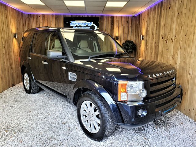 2008 58 LAND ROVER DISCOVERY 2.7 3 TDV6 SE 5d 188 BHP