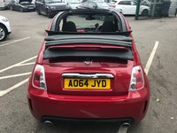 USED 2014 64 ABARTH 500 1.4 C ABARTH 3d 135 BHP PEARL RED, 1 FORMER KEEPER !!