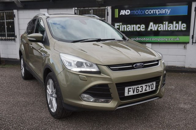 USED 2014 63 FORD KUGA 2.0 TITANIUM X TDCI 5d 160 BHP Full Ford History, Sat Nav, Pan Roof, Leather Heated