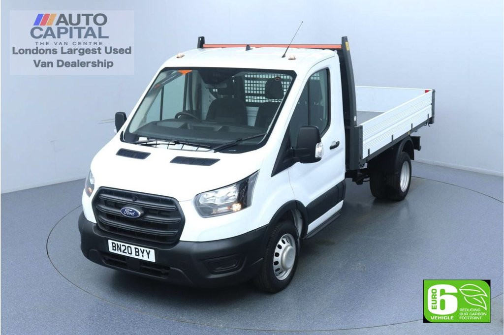 USED 2020 20 FORD TRANSIT 2.0 350 RWD EcoBlue L2 MWB 130 BHP Low Emission Leader Tipper Eco Mode | Auto Start-Stop | Twin wheels