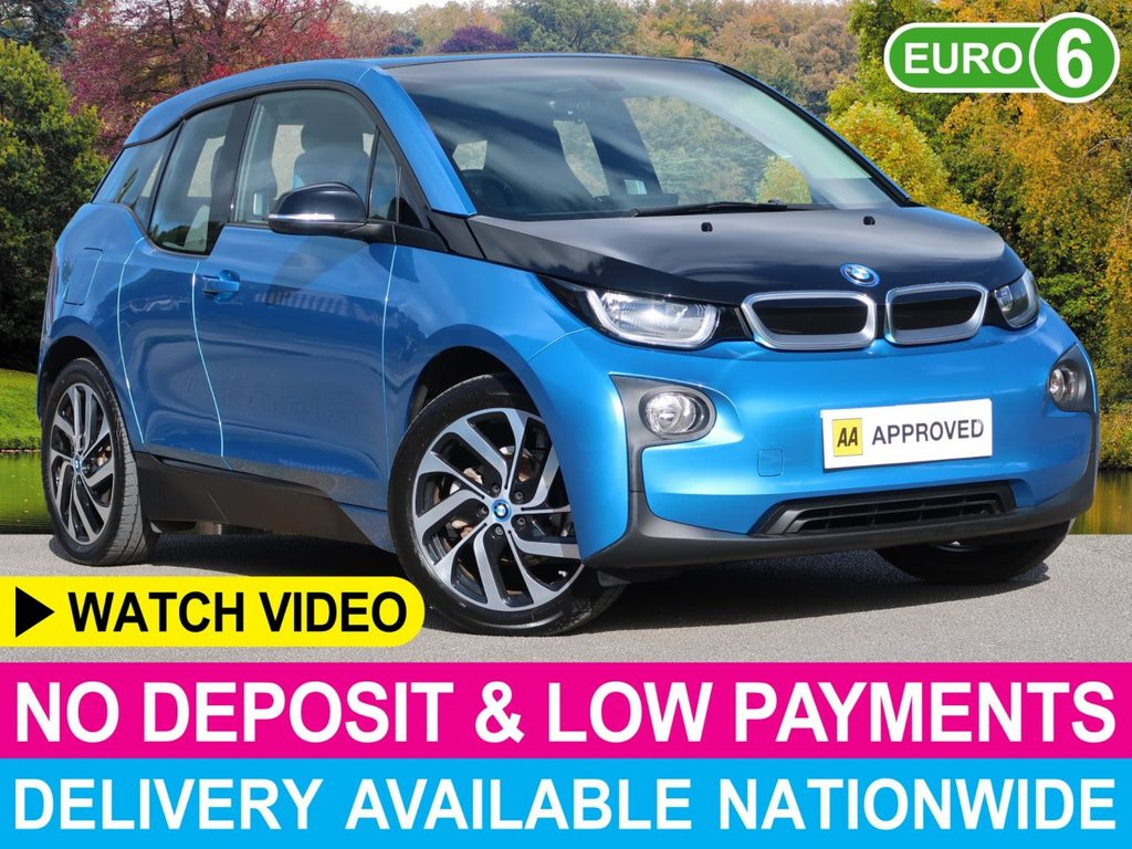 "USED 2017 17 BMW I3 i3 94Ah Auto Full Electric 5dr Sat Nav Nav 19"" Alloy Media Pack Pro"