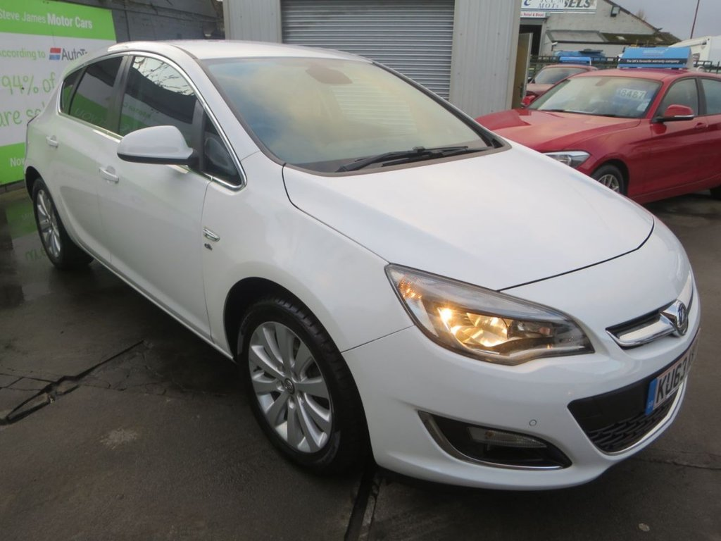 USED 2013 63 VAUXHALL ASTRA 2.0 ELITE CDTI S/S 5d 163 BHP * 7 STAMP FSH + FULL LEATHER *