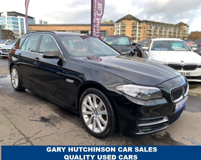 USED 2014 64 BMW 5 SERIES 520D SE TOURING 5d 188 BHP