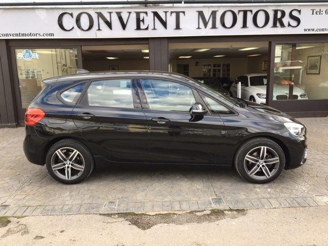USED 2017 17 BMW 2 SERIES 1.5 216D SPORT ACTIVE TOURER 5d 114 BHP