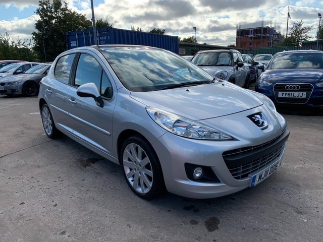 USED 2011 11 PEUGEOT 207 1.6 HDI ALLURE 5d 92 BHP SERVICE HISTORY