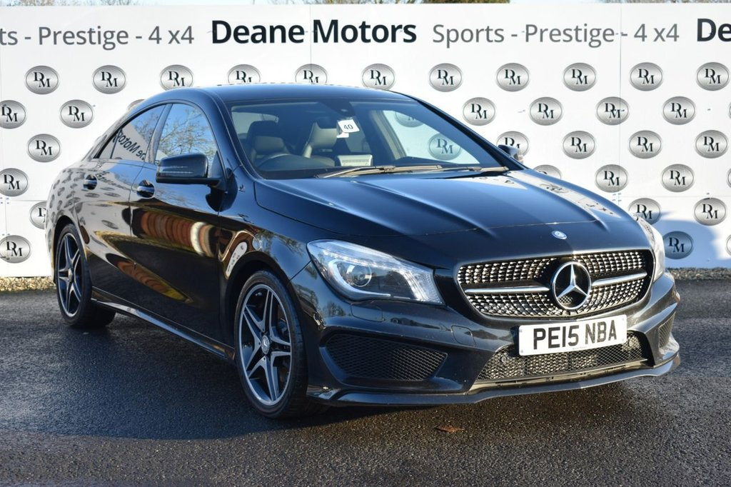 USED 2015 15 MERCEDES-BENZ CLA 2.1 CLA220 CDI AMG SPORT 4d 170 BHP AMG EXCLUSIVE PACK