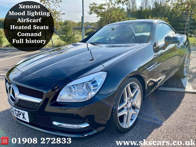 2012 62 MERCEDES-BENZ SLK 1.8 SLK200 BLUEEFFICIENCY 2d 184 BHP