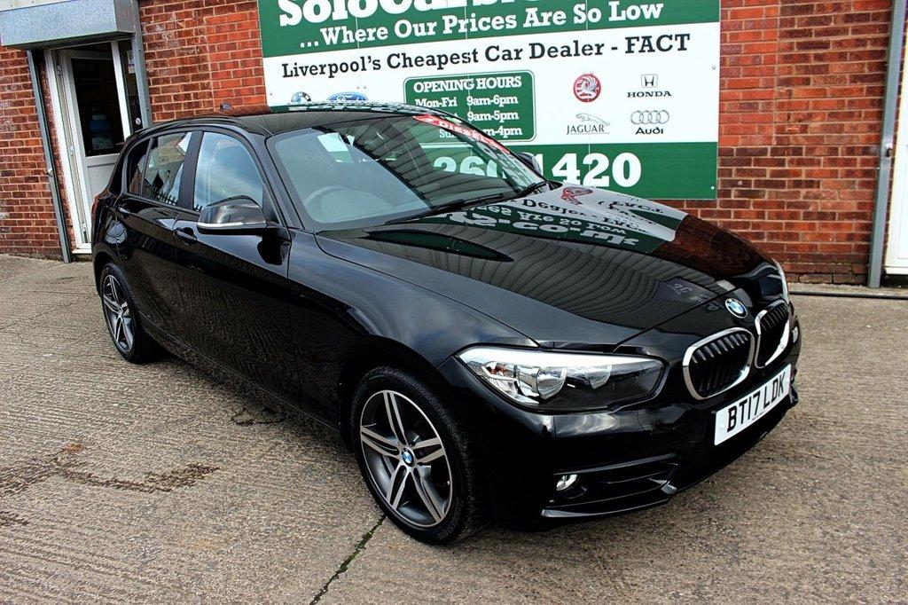 USED 2017 17 BMW 1 SERIES 1.5 116D SPORT 5d 114 BHP +ONE OWNER +LOW MILES +SAT NAV