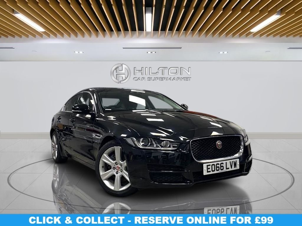 "USED 2016 66 JAGUAR XE 2.0 PORTFOLIO 4d 178 BHP Navigation System, Leather Seats,18"" Alloy Wheels, Parking Sensor(s),  Privacy Glass, Climate Control"
