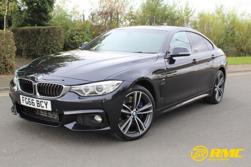 USED 2016 66 BMW 4 SERIES GRAN COUPE 3.0 435D XDRIVE M SPORT GRAN COUPE 5d 315 BHP