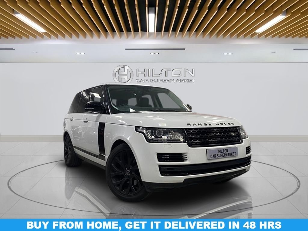 "USED 2014 64 LAND ROVER RANGE ROVER 3.0 TDV6 VOGUE SE 5d 258 BHP Navigation System, Panoramic Roof, Privacy Glass, Leather Seats, 21"" Alloy Wheels, Parking Sensor(s), Climate Control"