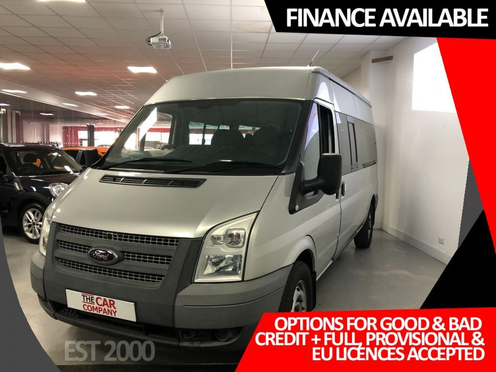 USED 2013 63 FORD TRANSIT 2.2 350 14 STR 134 BHP * 14 SEATER *  NEW MOT * 5 SERVICES *