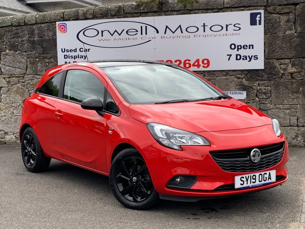 USED 2019 19 VAUXHALL CORSA 1.4 GRIFFIN 3d 89 BHP FULL SERVICE HISTORY+1 OWNER+FINANCE AVAILABLE+HEATED SEATS+HEATED STEERING WHEEL