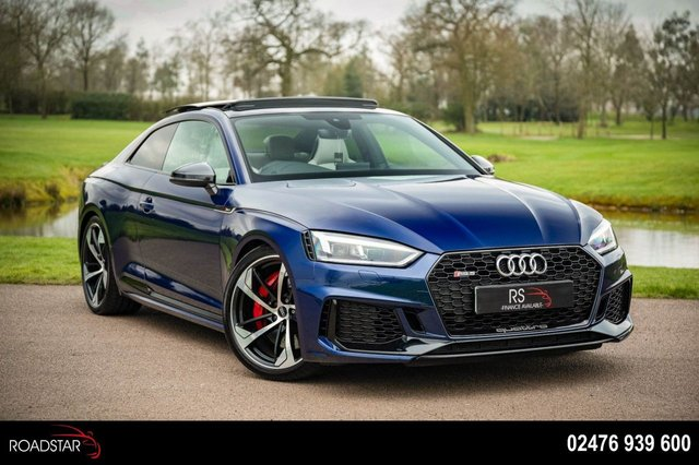 USED 2018 AUDI A5 2.9 TFSI V6 Tiptronic quattro (s/s) 2dr PAN ROOF+SPORT XHAUST+BLACK PK