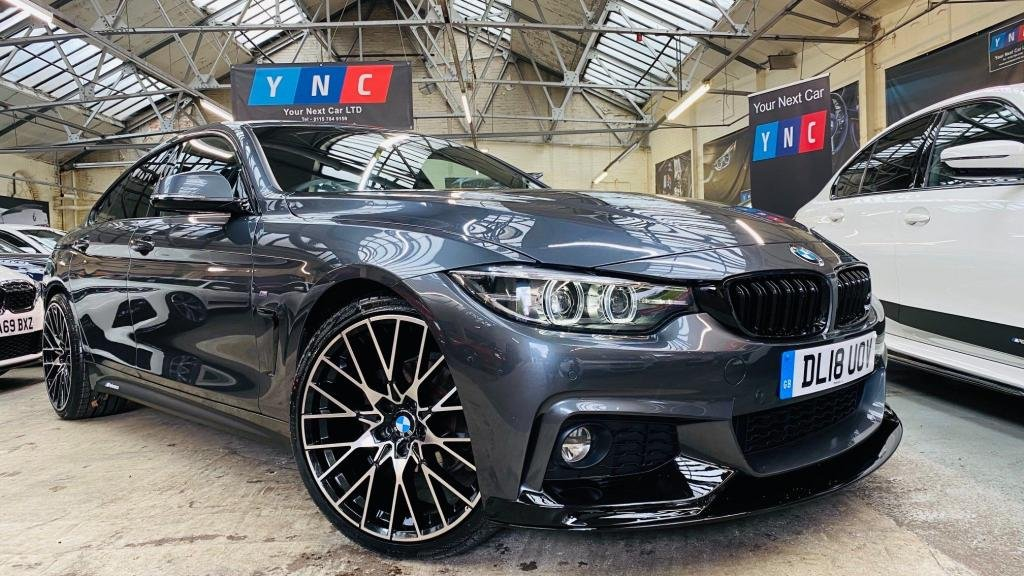 USED 2018 18 BMW 4 SERIES 2.0 420i GPF M Sport Gran Coupe Auto (s/s) 5dr PERFORMANCEKIT+20S+FACELIFT
