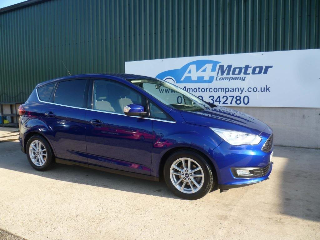 USED 2017 17 FORD C-MAX 1.5 TDCi Zetec (s/s) 5dr APPLY FOR FINANCE ,LOW MILES,