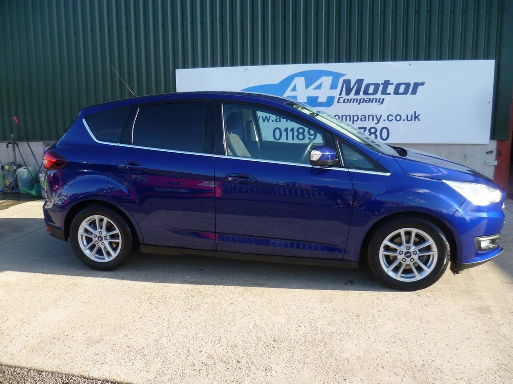 USED 2017 17 FORD C-MAX 1.5 TDCi Zetec (s/s) 5dr LOW !!! LOW !! MILEAGE 18,958